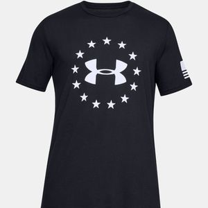 Under Armour Freedom Logo Men's Tactical T-Shirt M